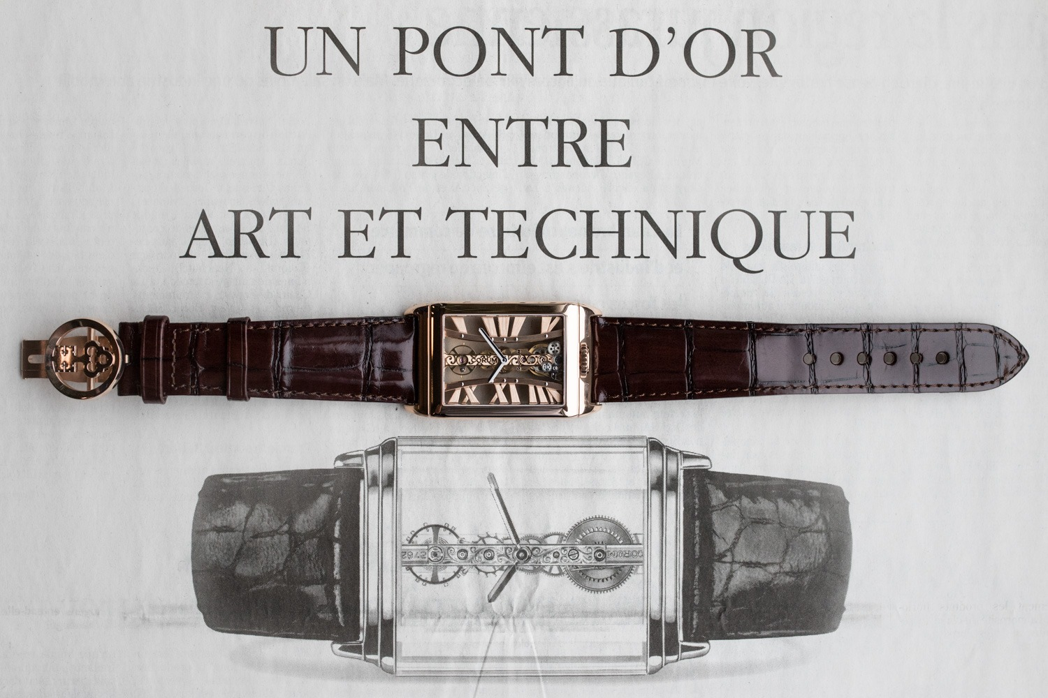 La Manufacture des montres Corum - Corum Golden Bridge