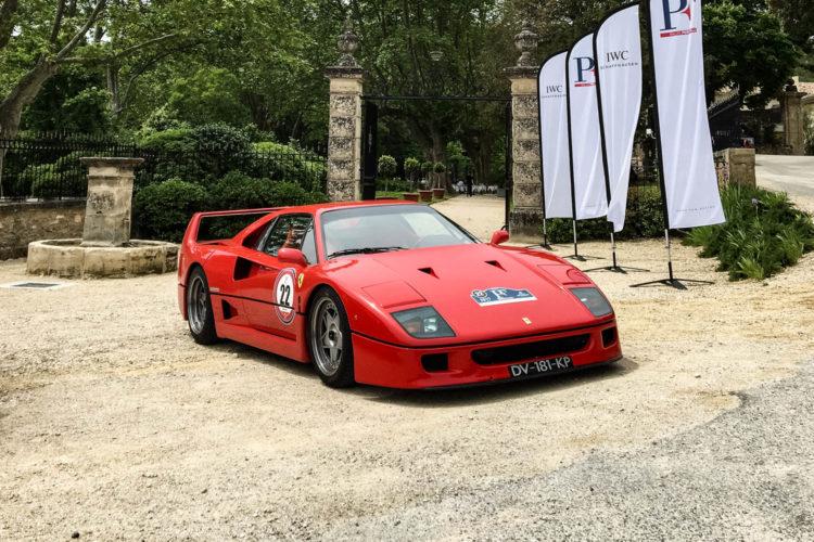 IWC et la première édition du Rallye Père-Fille - Ferrari F40