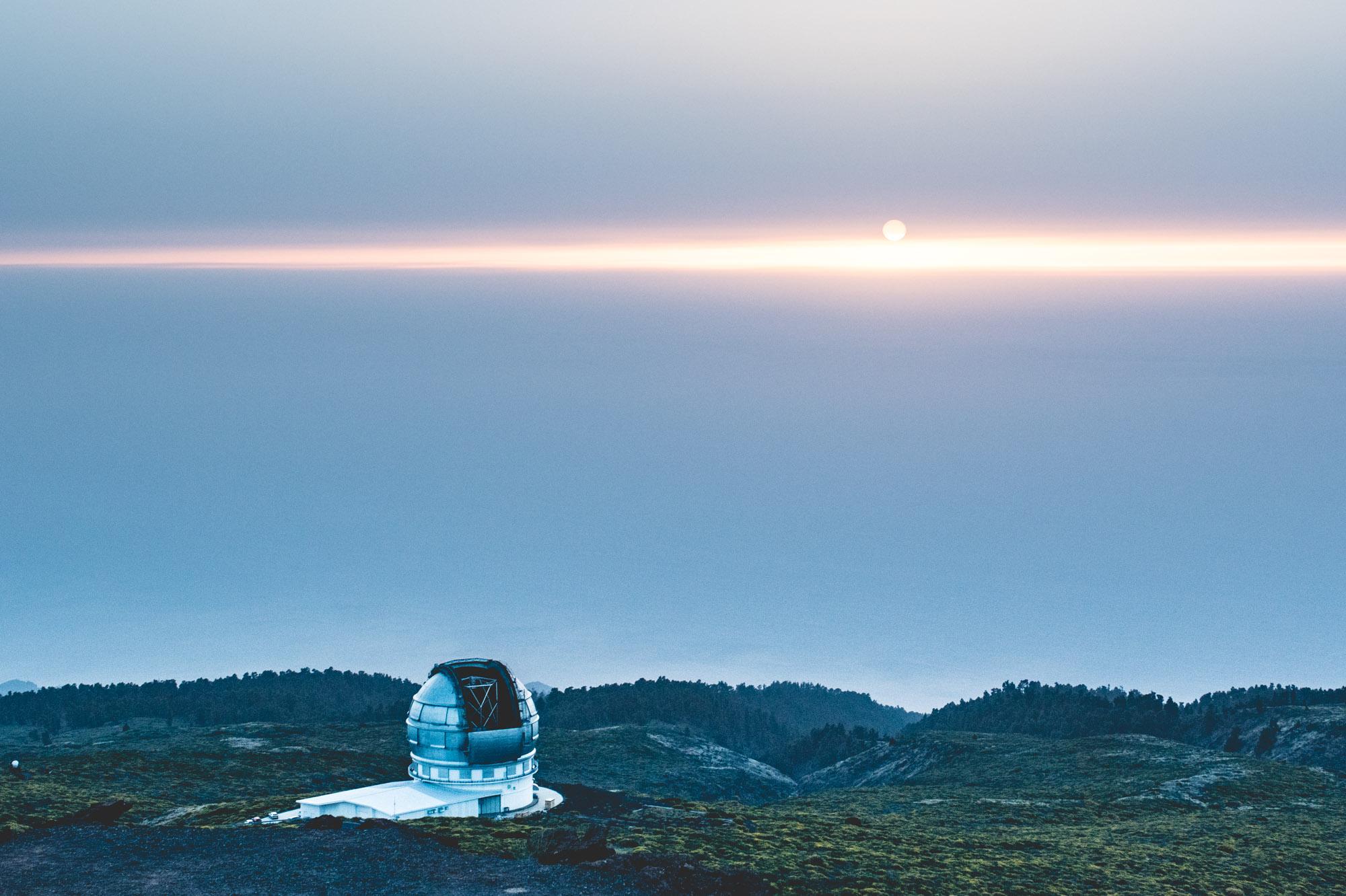 Observatoire du Roque de los Muchachos - La Palma, Gran Canarias