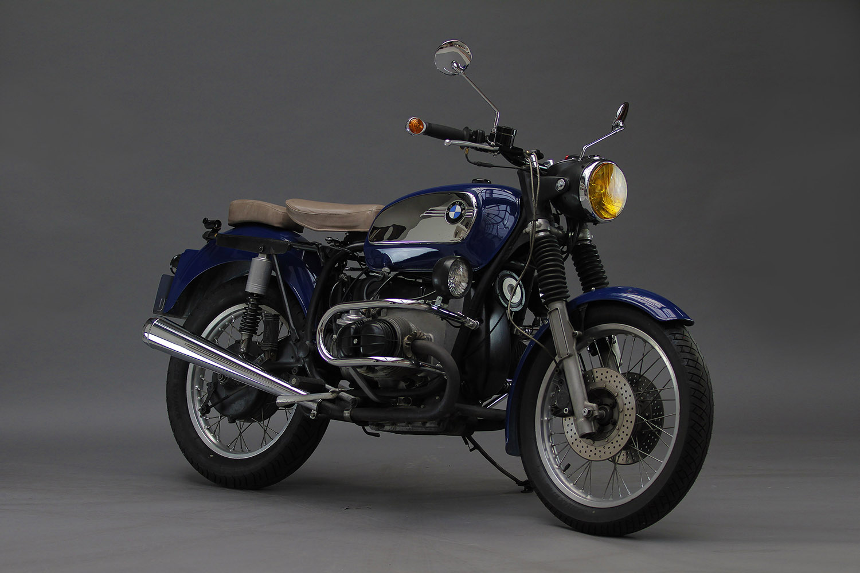 Vente de motos à la Fabrique Générale - BMW R75-5 bleu Porsche