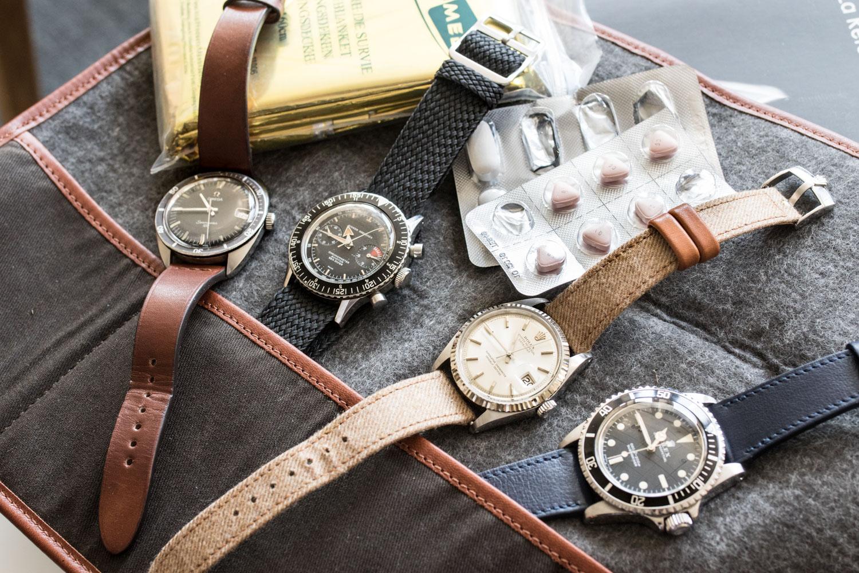 La collection de montre comme addiction