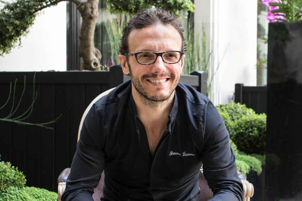 Portrait du chef du George Simone Zanoni