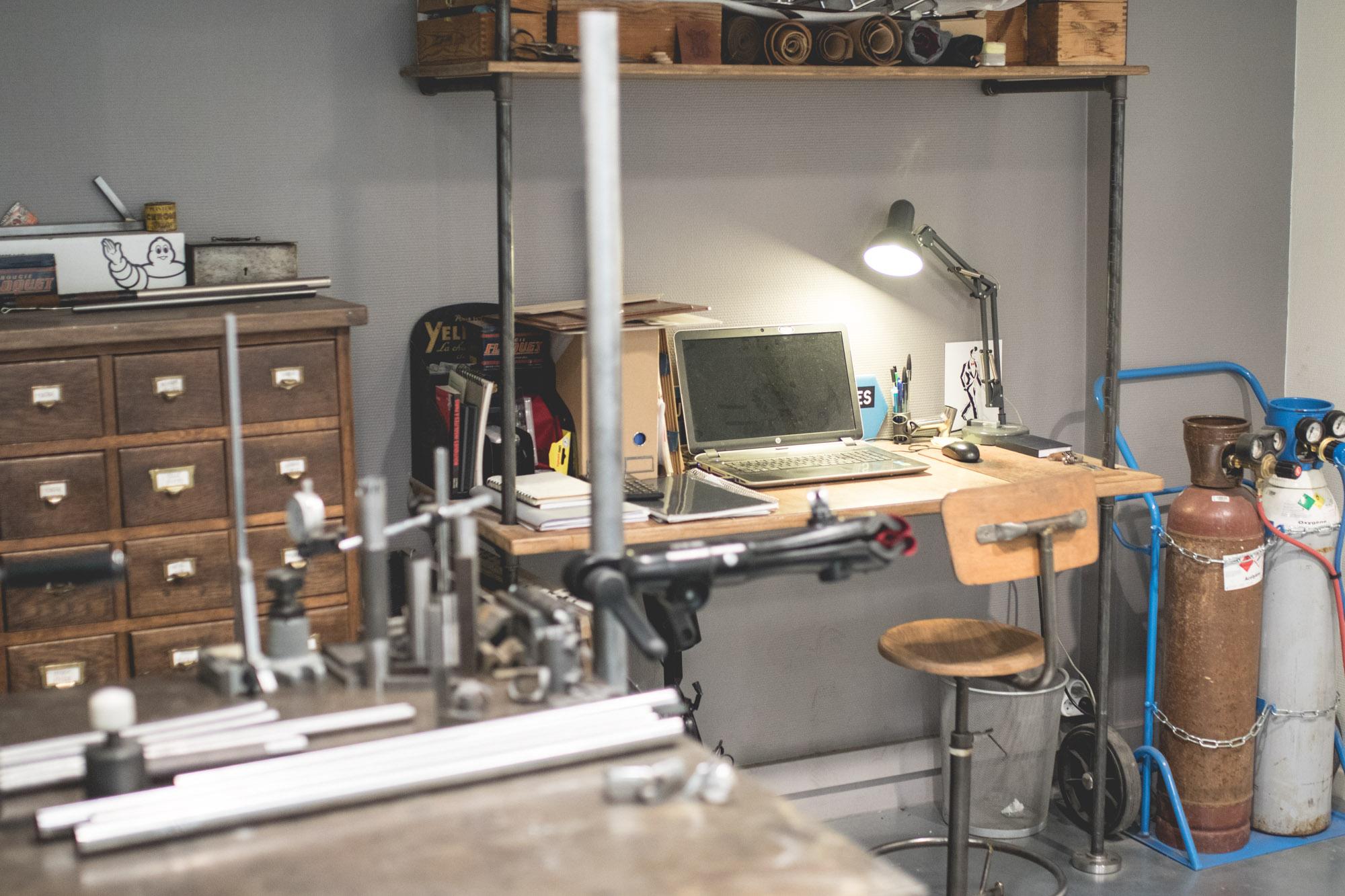 La Maison Tamboîte - L'atelier