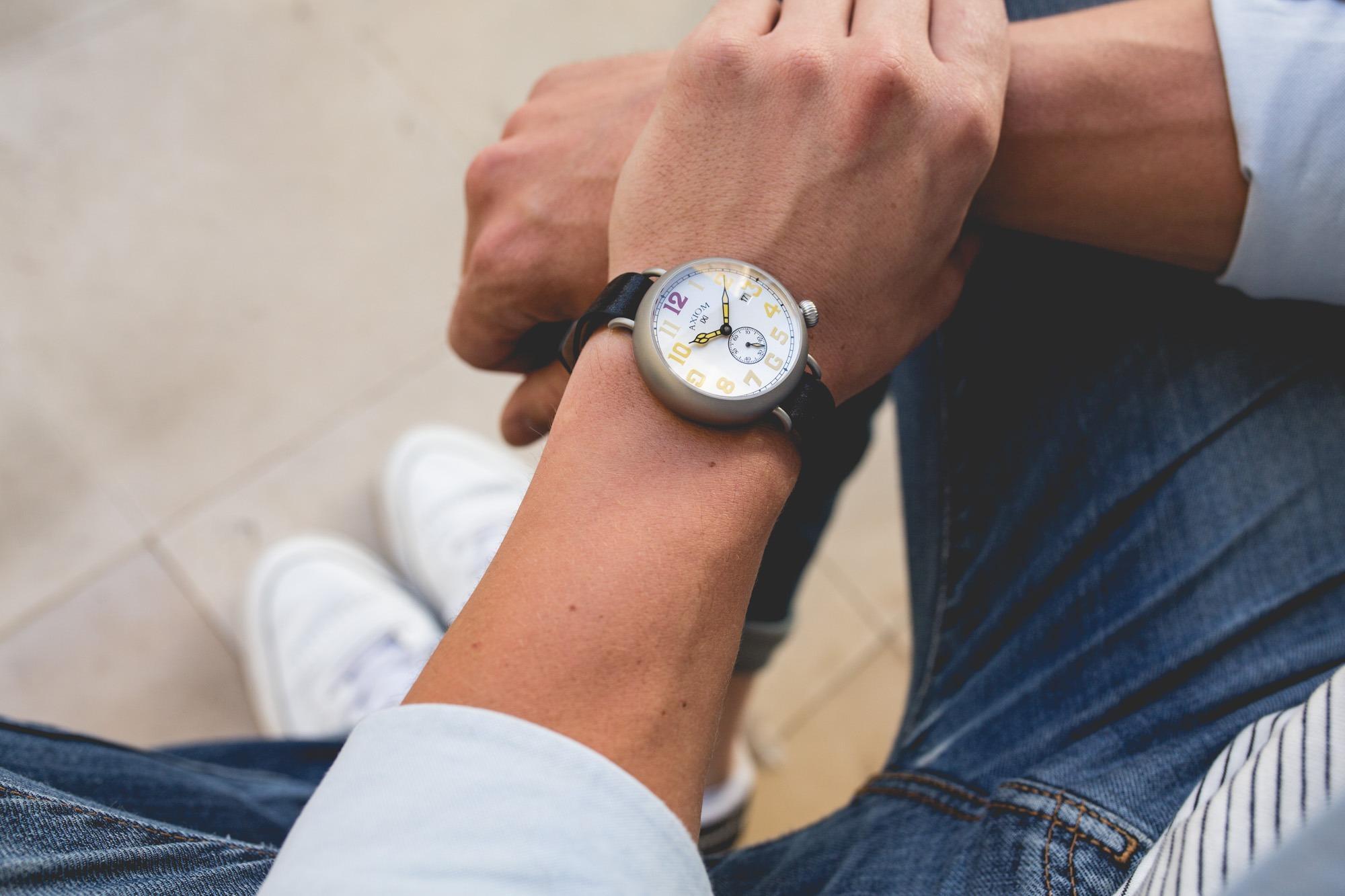 Axiom Watches - Lemon Burst