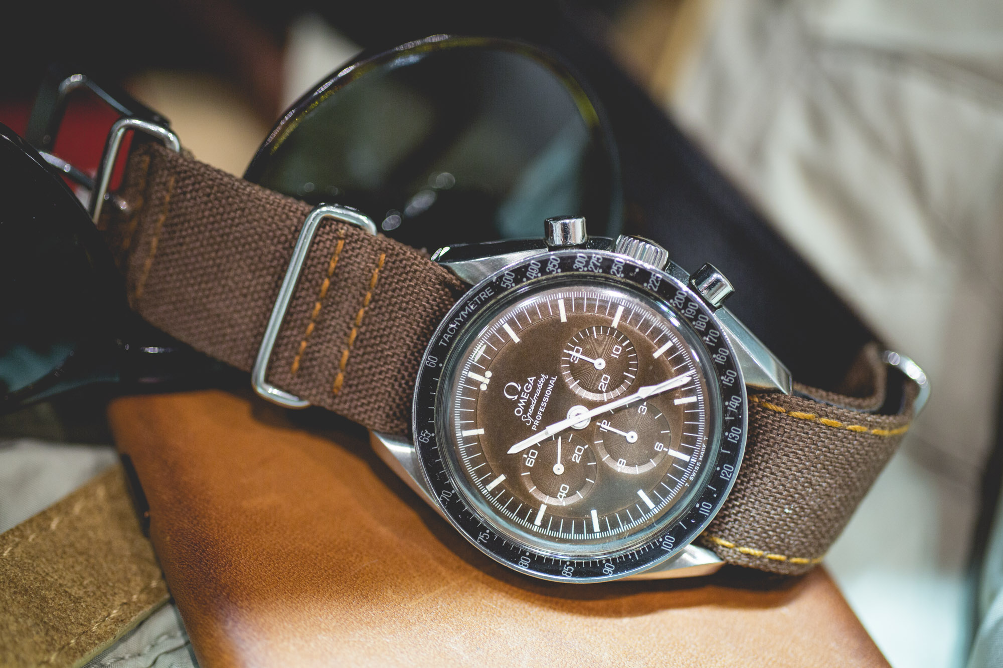 Omega Speedmaster- Tropical Dial
