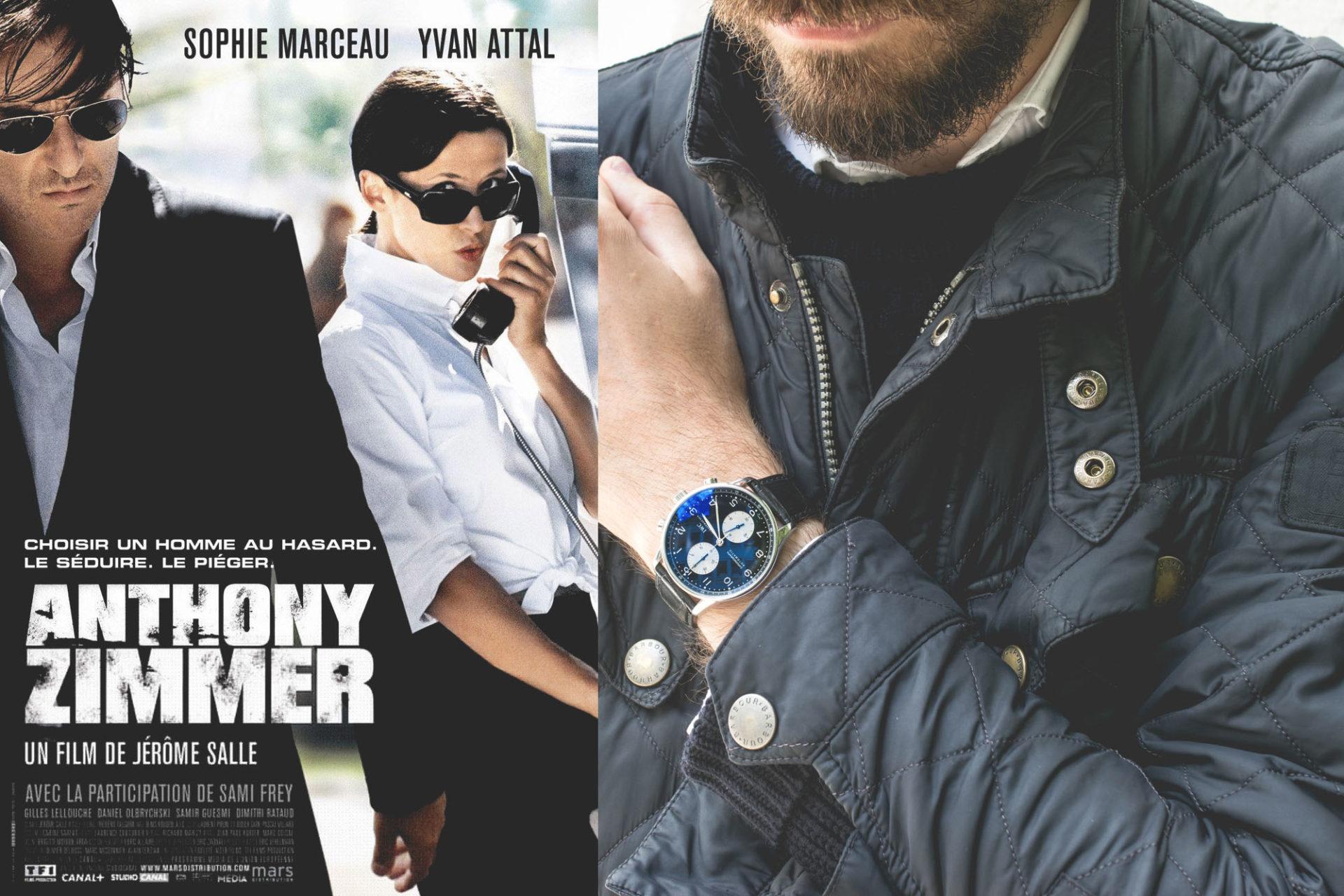 IWC Portugieser Chronograph Anthony ZImmer