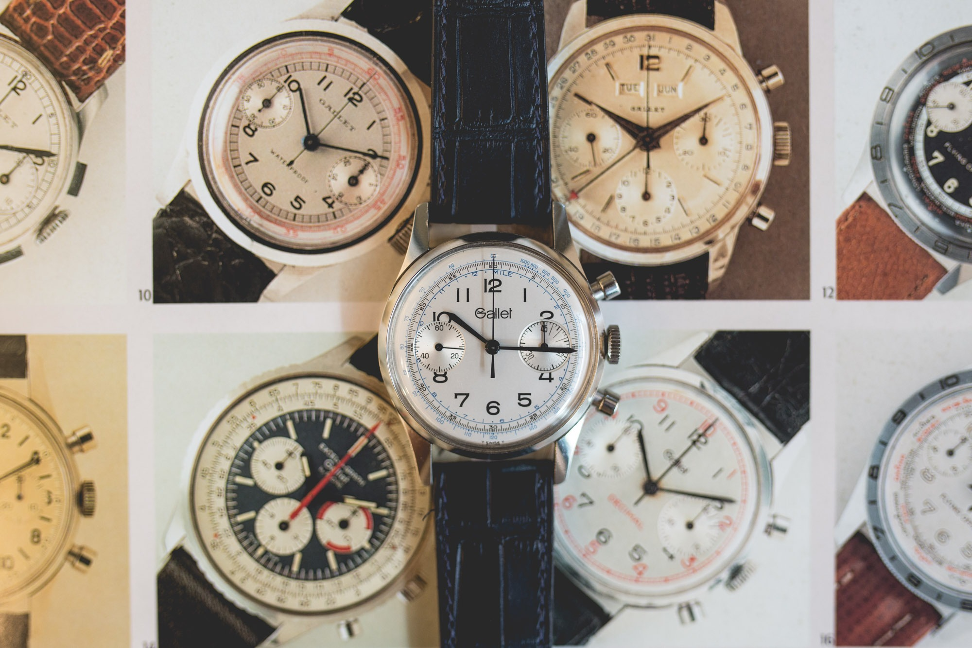 Gallet - Vintage Chronograph