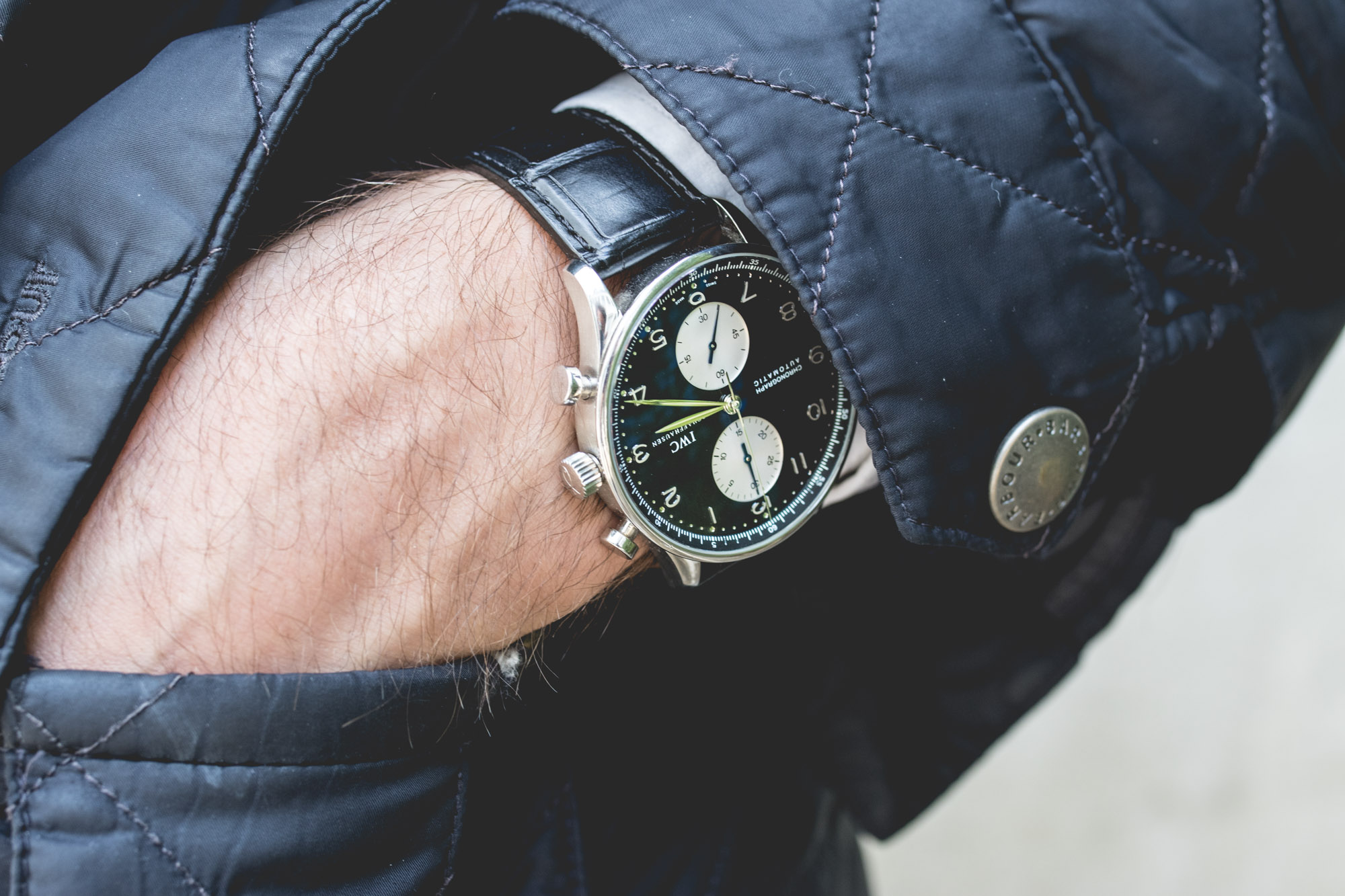 Anthony Zimmer - IWC Portugaise Chronographe