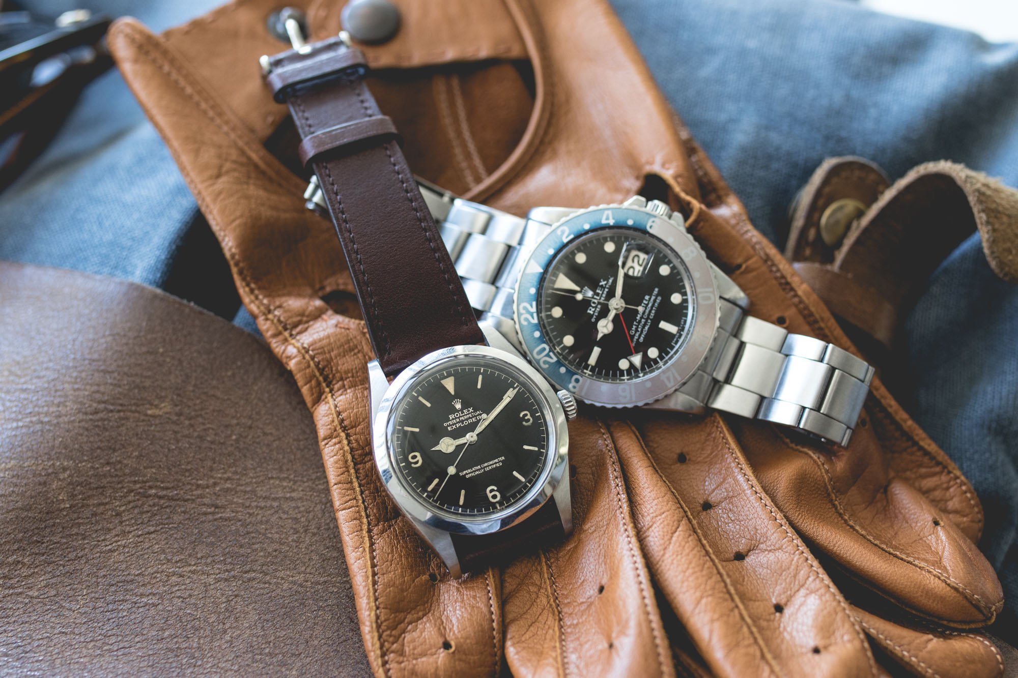 Portrait de collectionneur - Rolex Gmt-Master 1675 et Rolex Explorer 1016 (@jcchev)