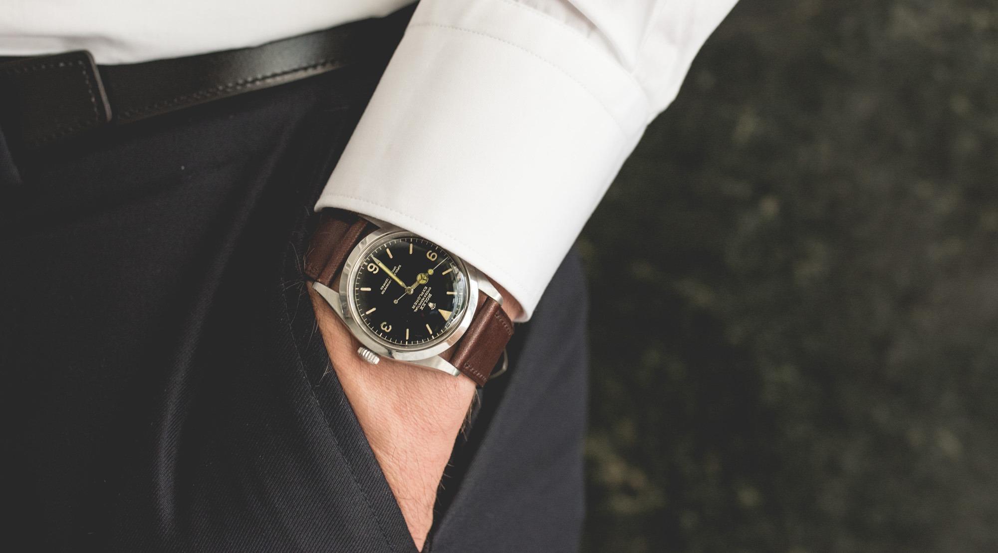 Portrait de collectionneur - Rolex Explorer 1016