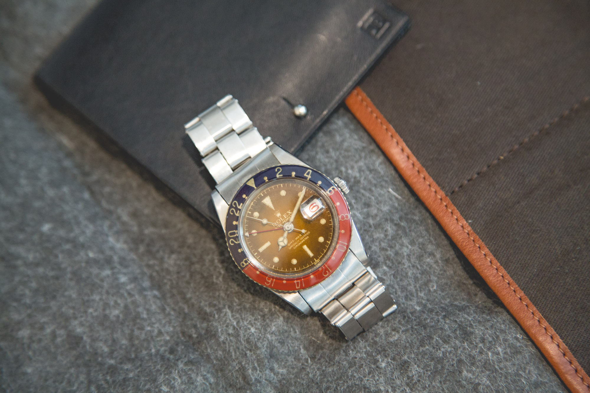 Rolex 6542 / 1958 - Cadran tropical