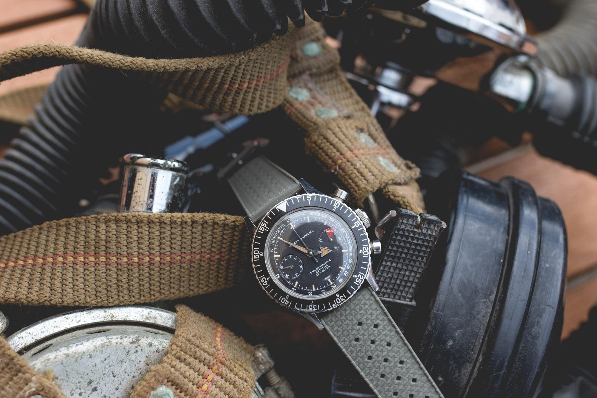 Bracelet Tropic Joseph Bonnie - Nivada Grenchen Chronomaster