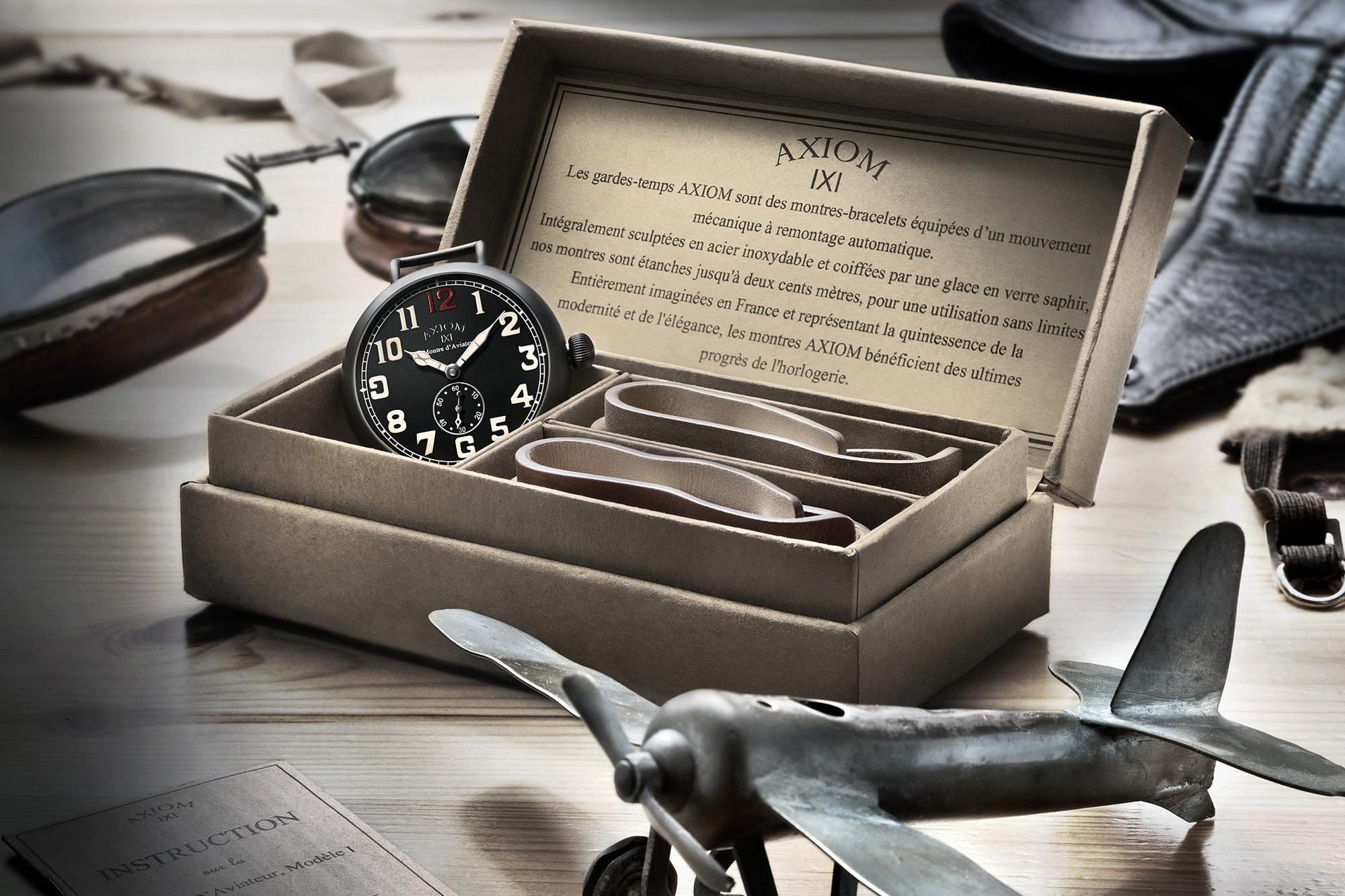 Axiom Montre d'Aviateur I - Boite en carton