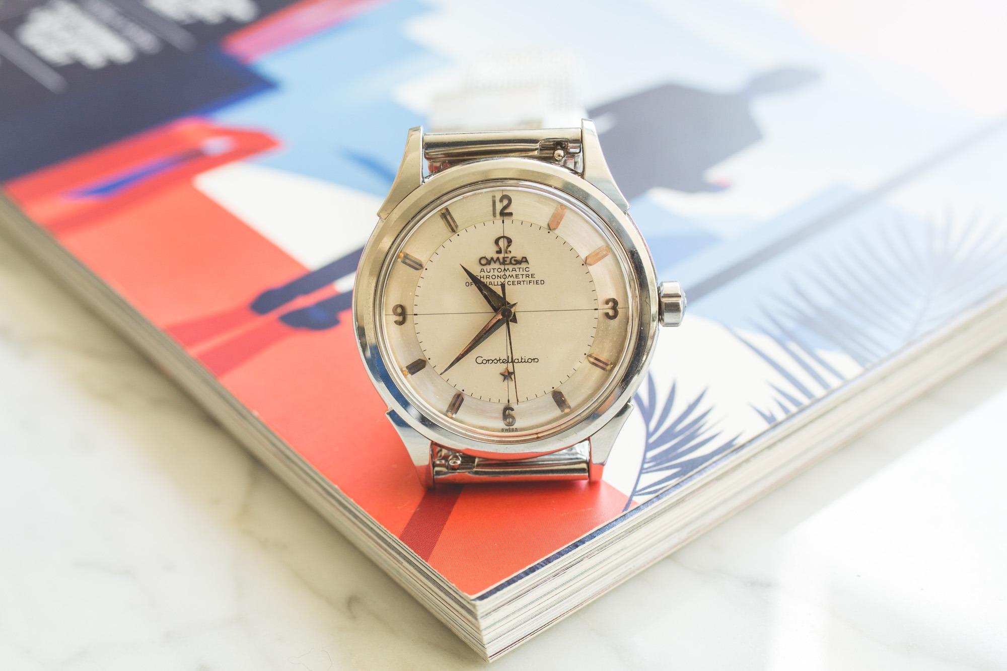 Premier Drop de montres vintage de l'été chez Joseph Bonnie - Omega Constellation