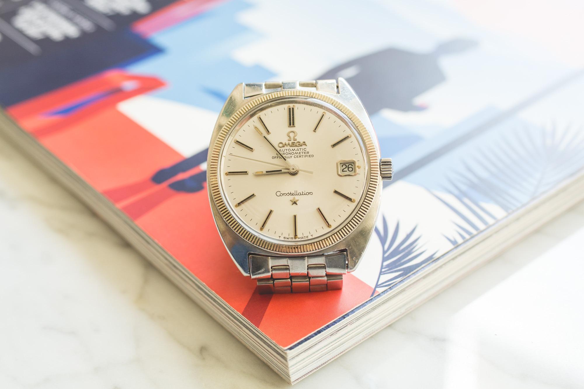 Premier Drop de montres vintage de l'été chez Joseph Bonnie - Omega Constellation C-Case