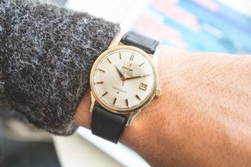Premier Drop de montres vintage de l'été chez Joseph Bonnie - Omega Constellation Or et Acier