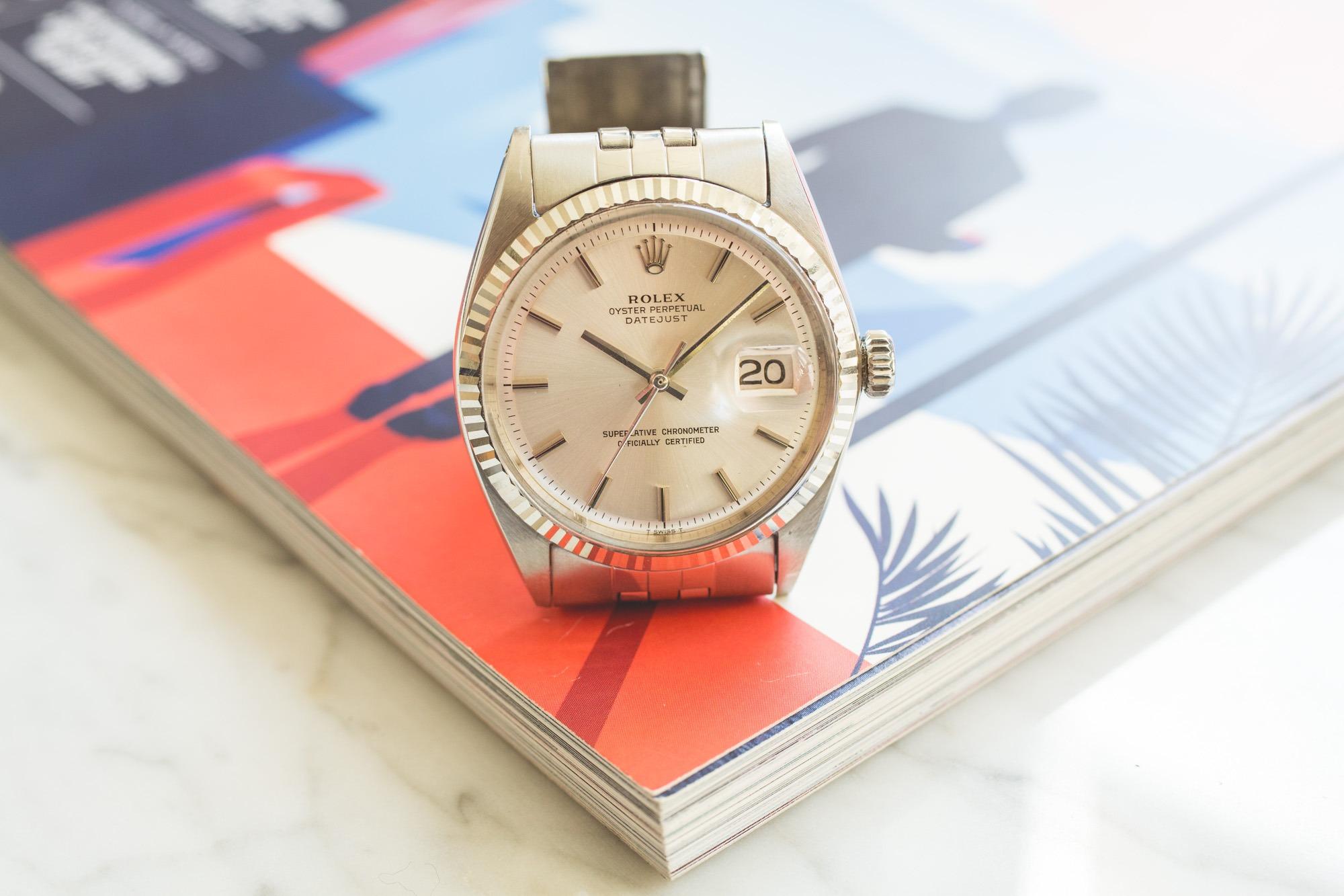 Premier Drop de montres vintage de l'été chez Joseph Bonnie - Rolex Datejust