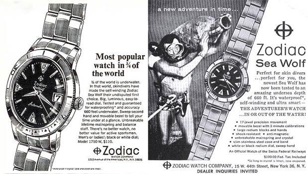 Ancienne pub Zodiac Seawolf