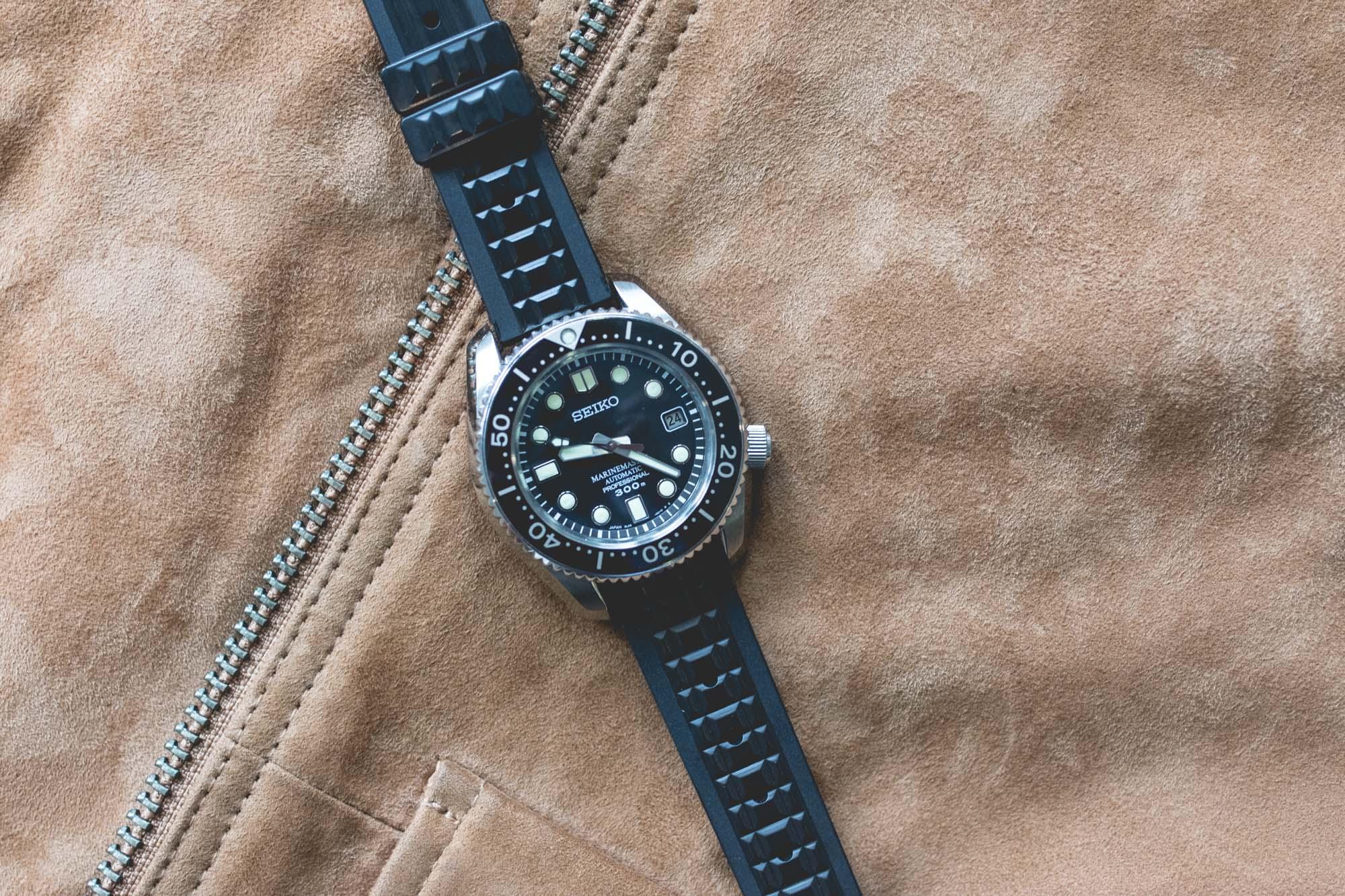 Seiko - Bracelets en caoutchouc historiques - Capitaine Willard