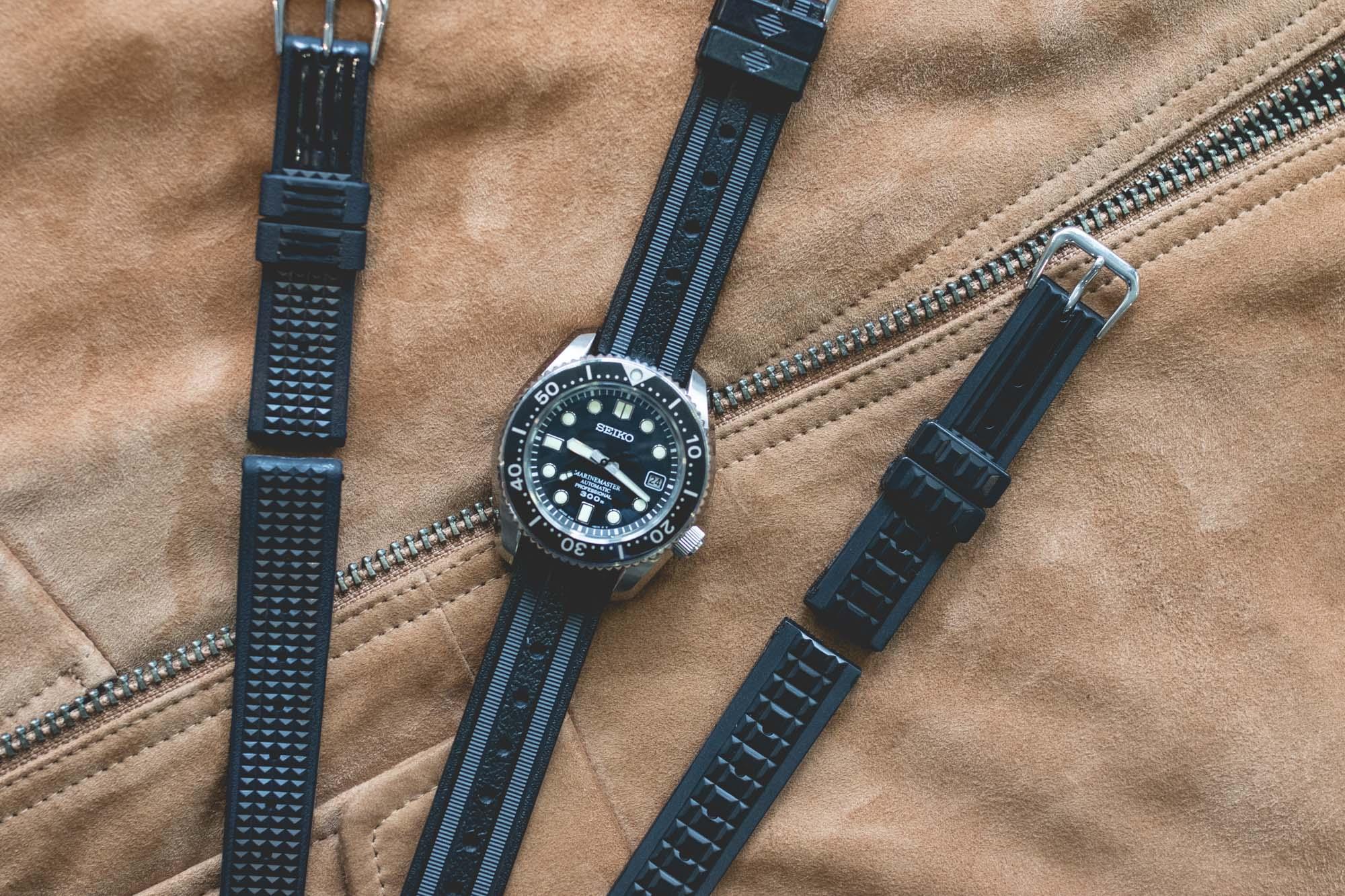 Seiko - Bracelets en caoutchouc historiques
