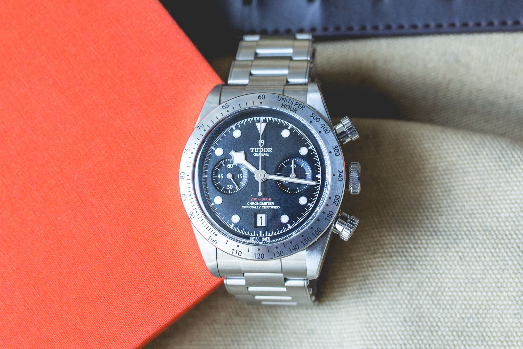 Tudor Black Bay Heritage Chrono