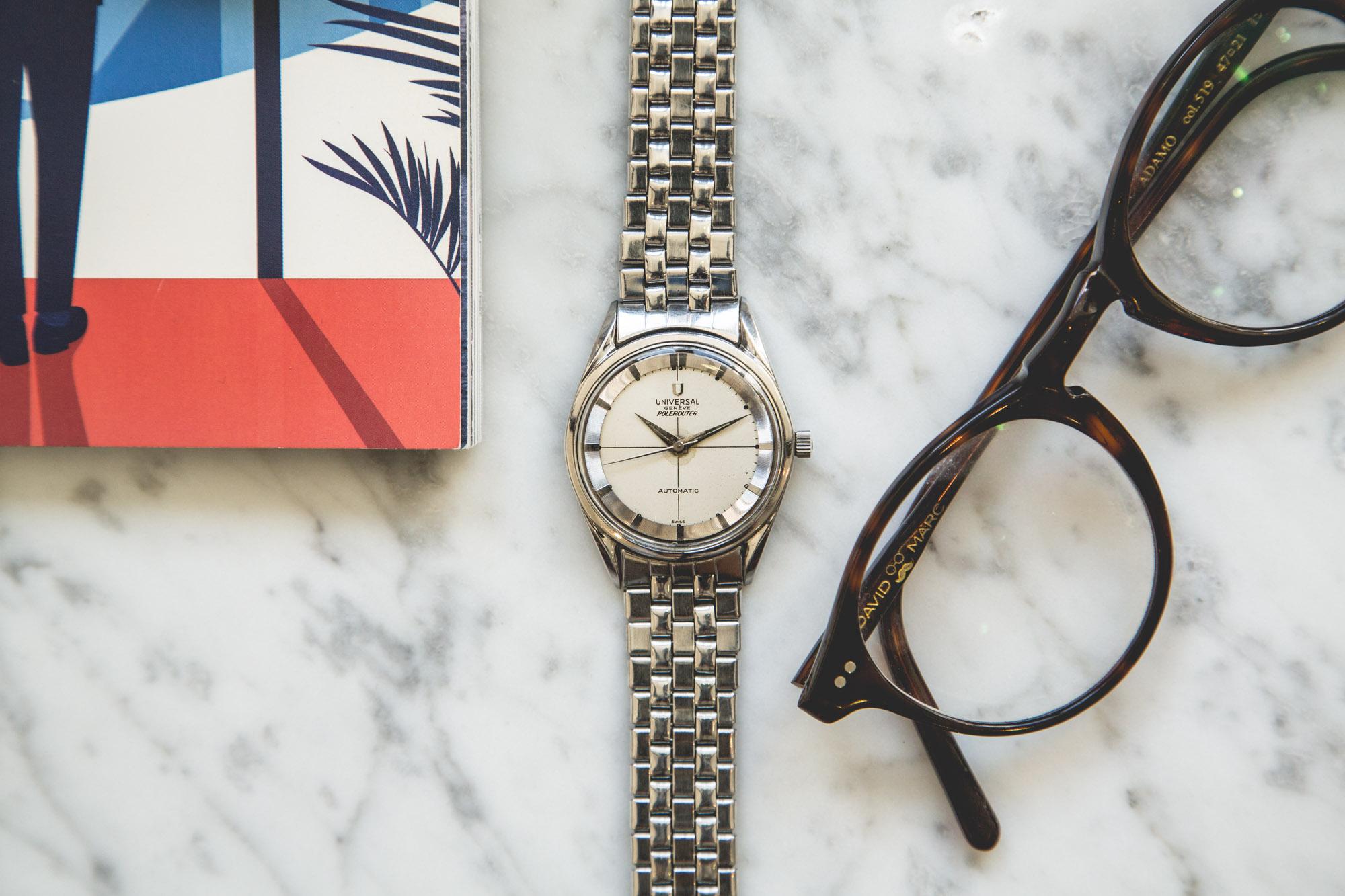 Premier Drop de montres vintage de l'été chez Joseph Bonnie - Universal Genève Polerouter