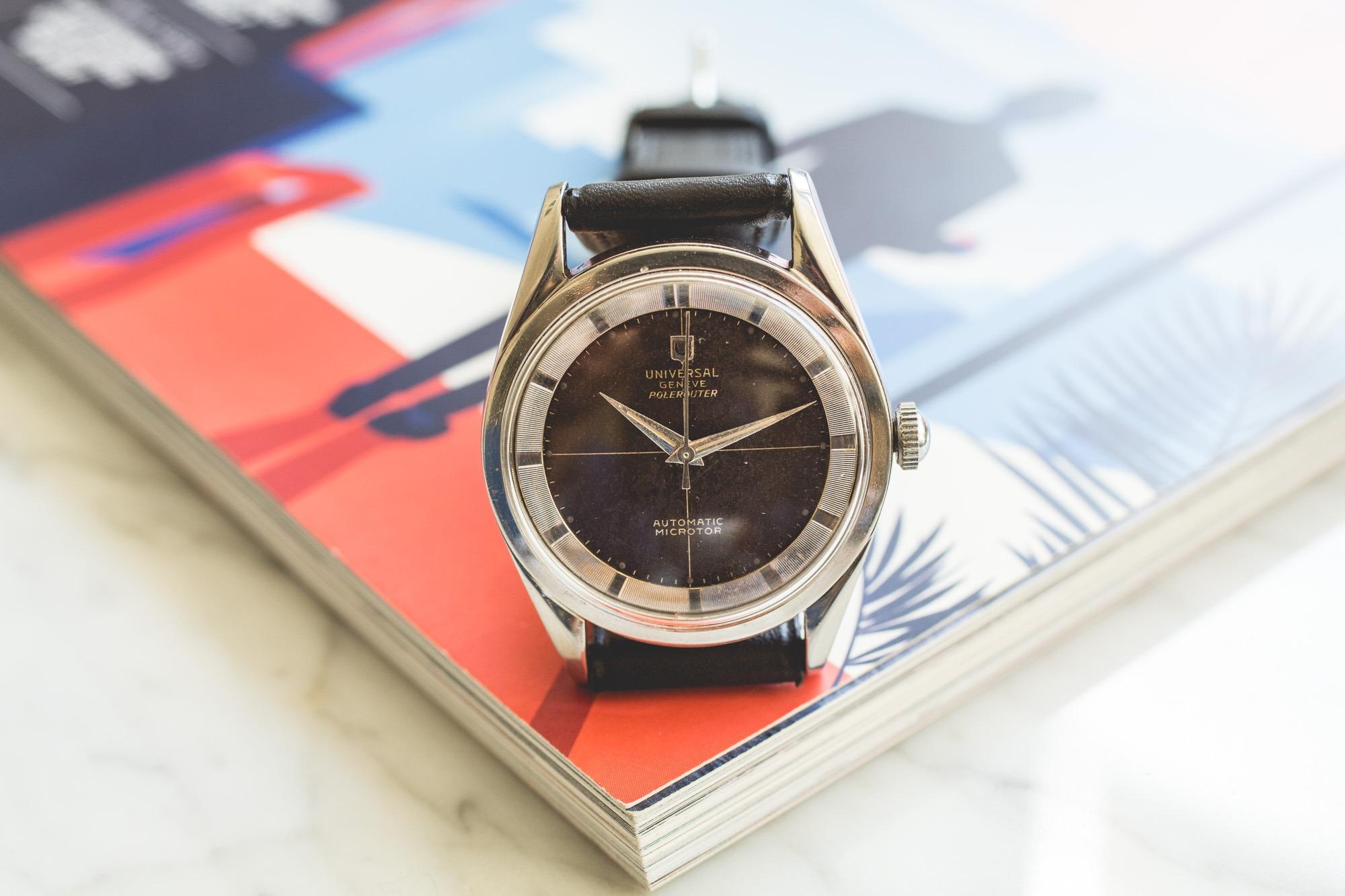 Nouvelles montres vintage Joseph Bonnie - Universal Genève Polerouter