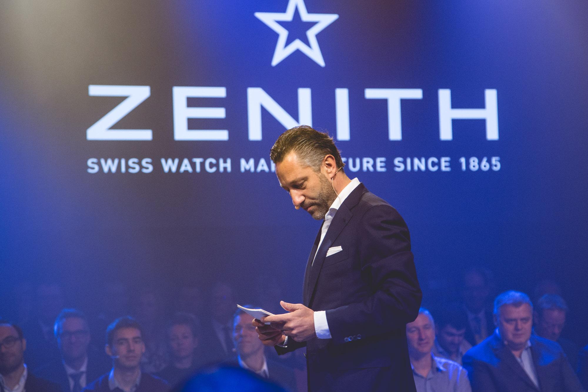 Zenith DEFY LAB - Aurel Bacs