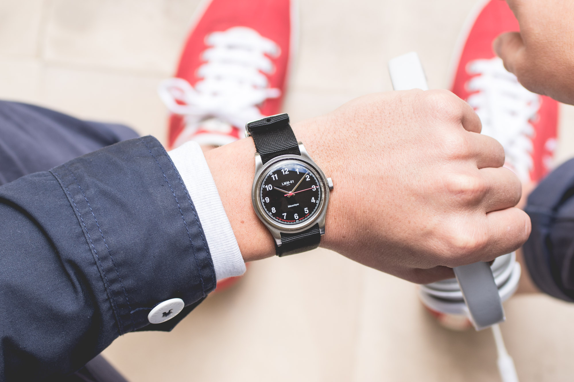 Wristshot Montre MERCI Mecanique