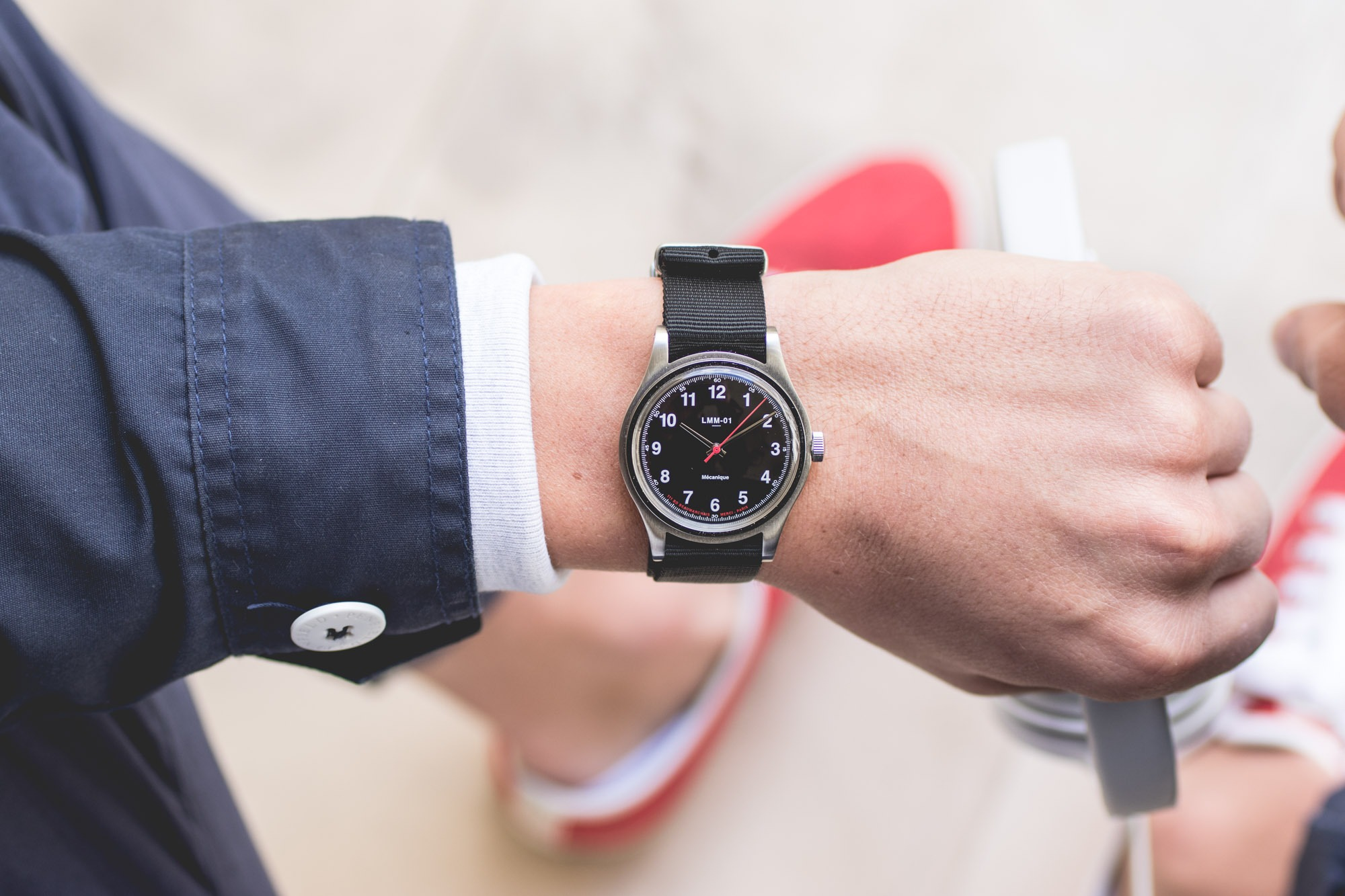 Montre MERCI Mecanique Wristshot