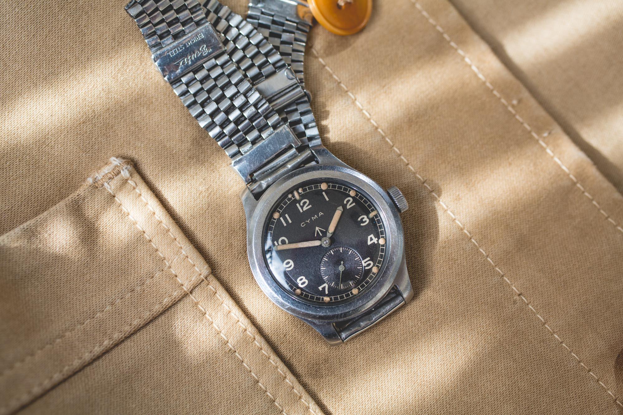 Cyma Military WWW - Bracelet Bentex