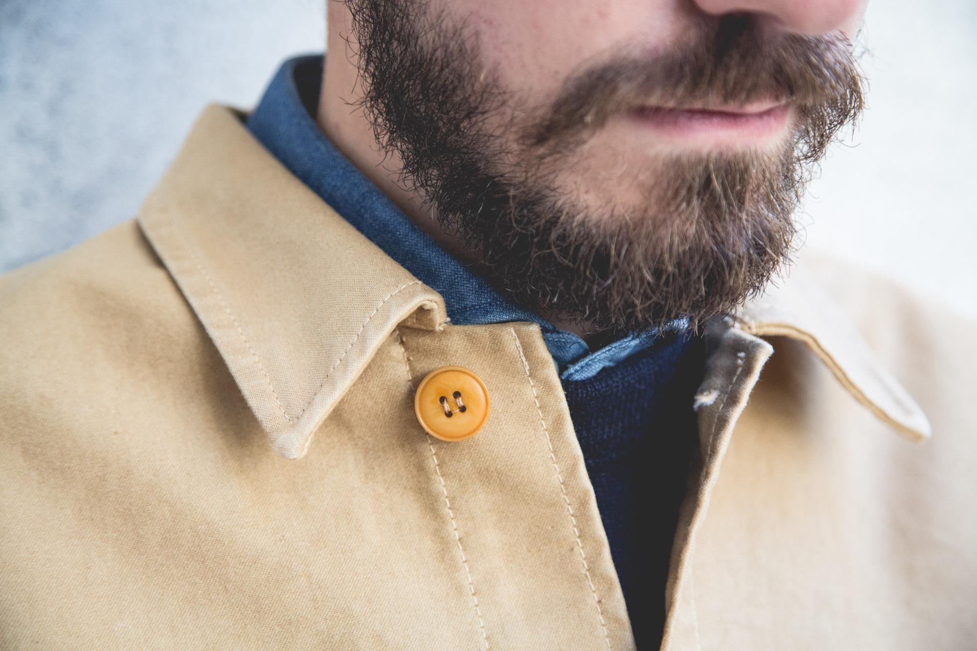 Véritable veste de travail en moleskine de coton Le Mont Saint-Michel