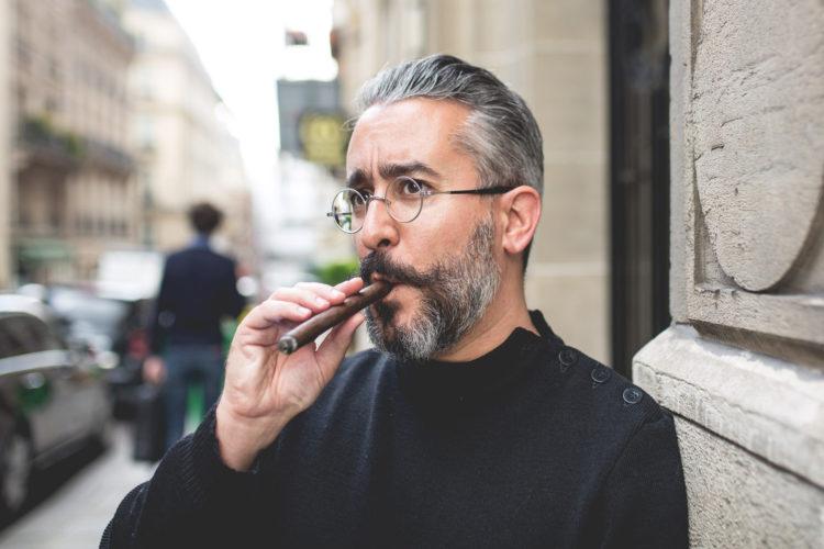 Portrait - Guillaume Tesson et l'art du Cigare