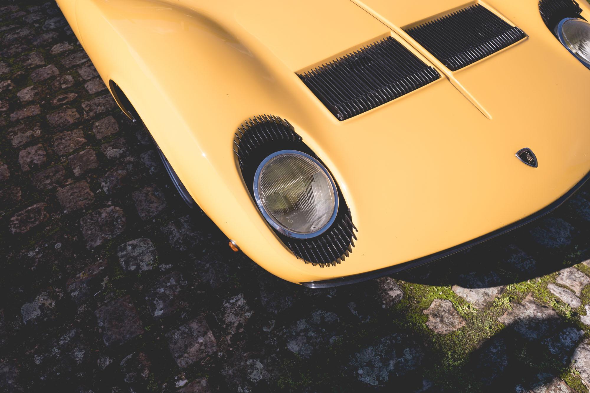 Lamborghini Miura - Phares