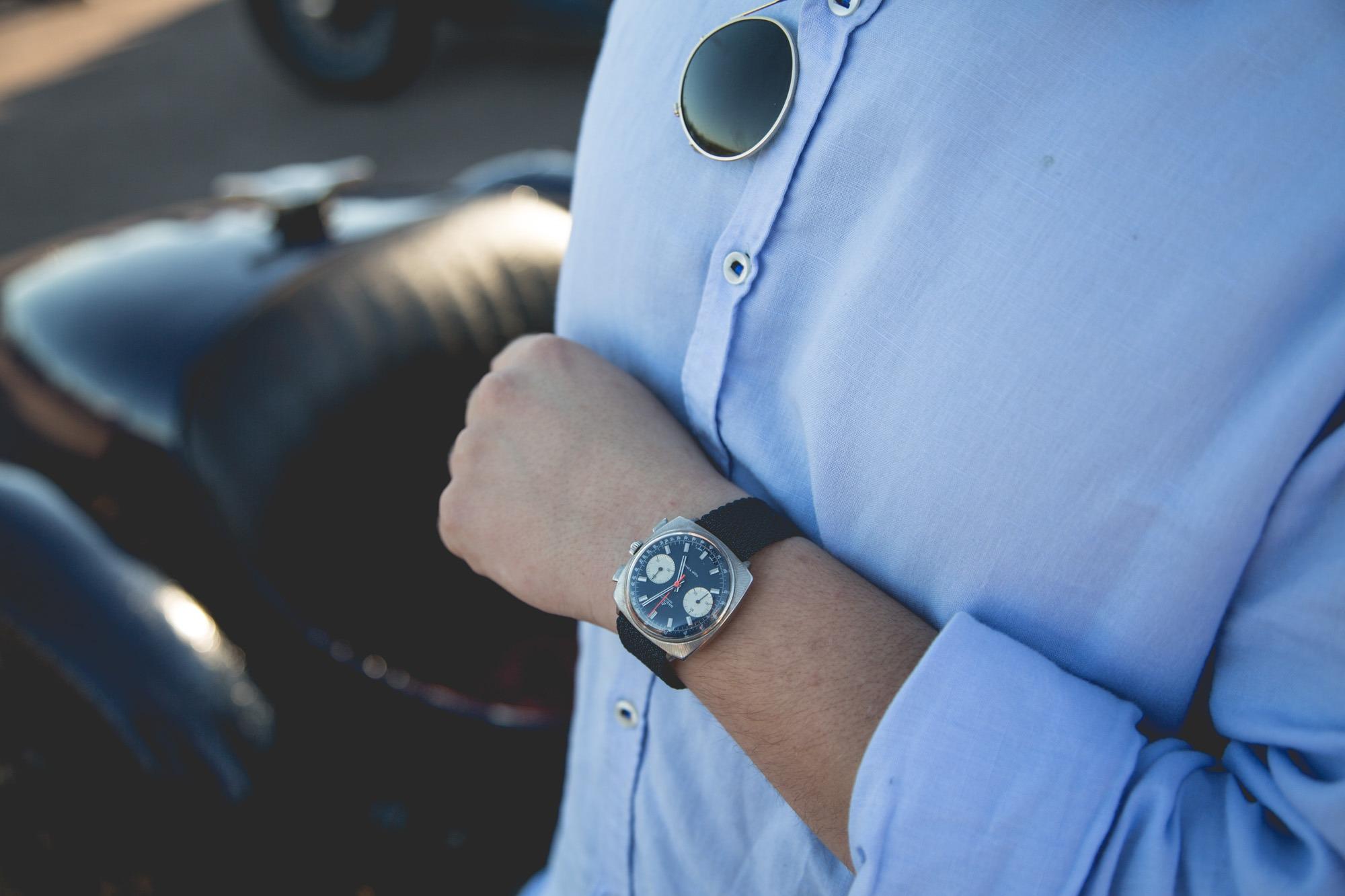 Journées d'Automne et watch-spotting - Breitling Top-Time