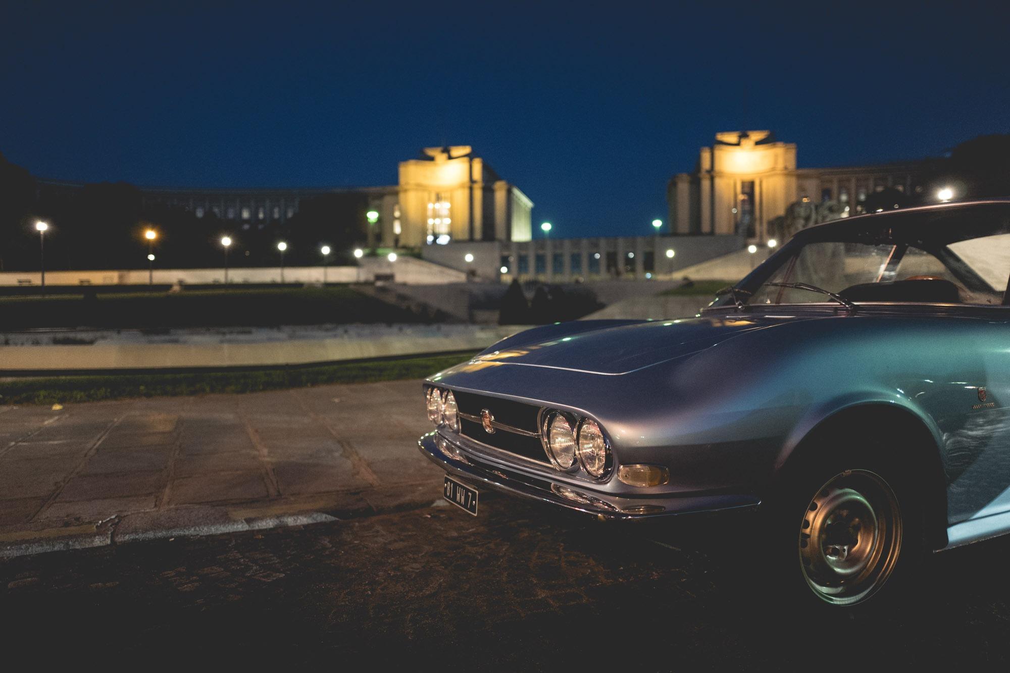 Journées d'Automne et watch-spotting - Trocadero et Fiat 124 Moretti