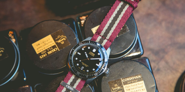 Oris Diver Sixty-Five Movember Edition Shot
