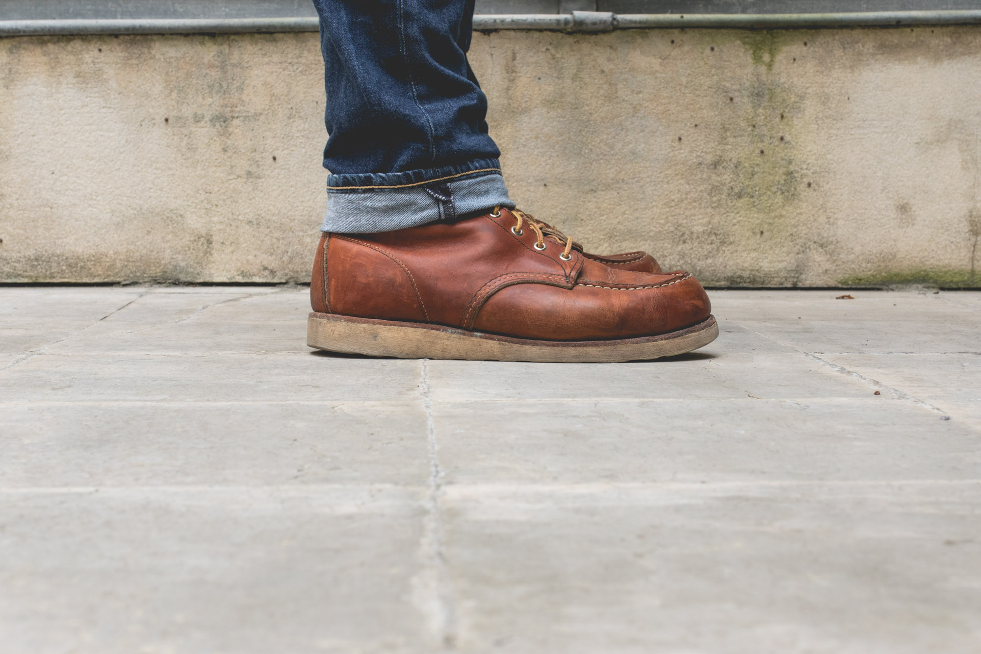 Red Wing shoes - Classic Moc Toe