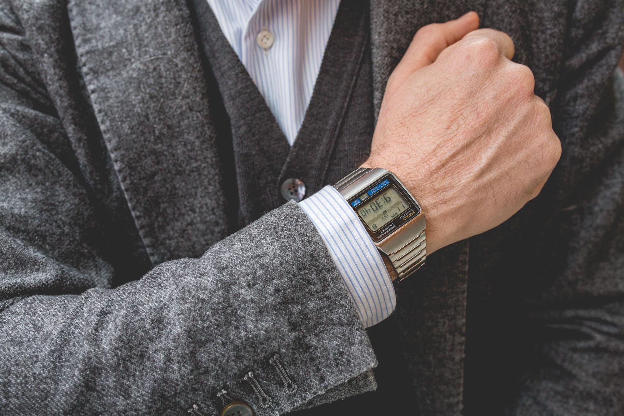 Les montres de James Bond - Seiko Quartz ref. M354.5019