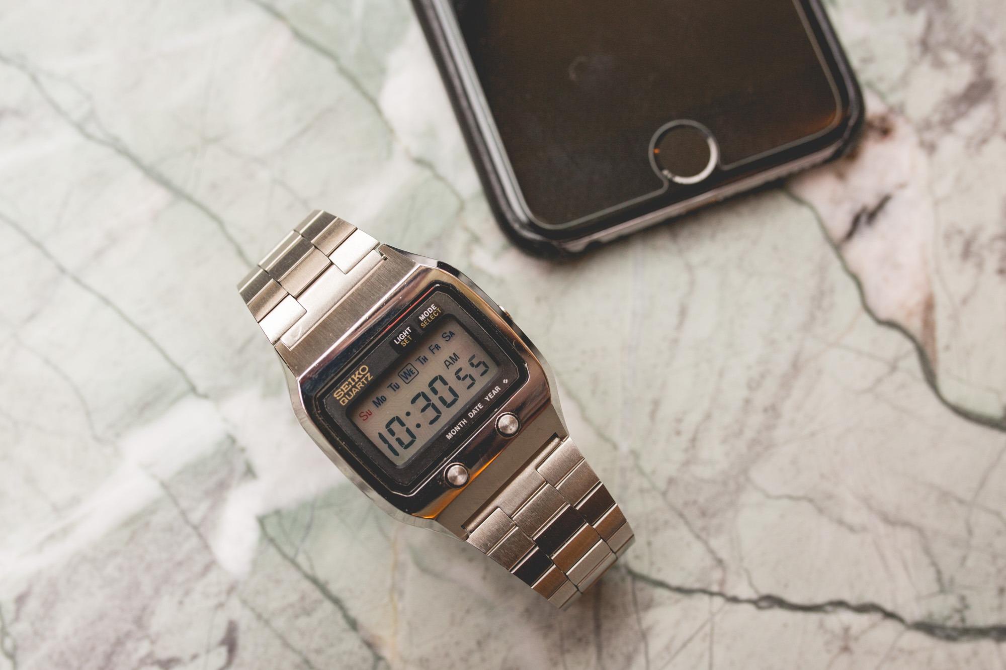 Montres vintage : Les montres de James Bond - Seiko Quartz ref. 0674.5000