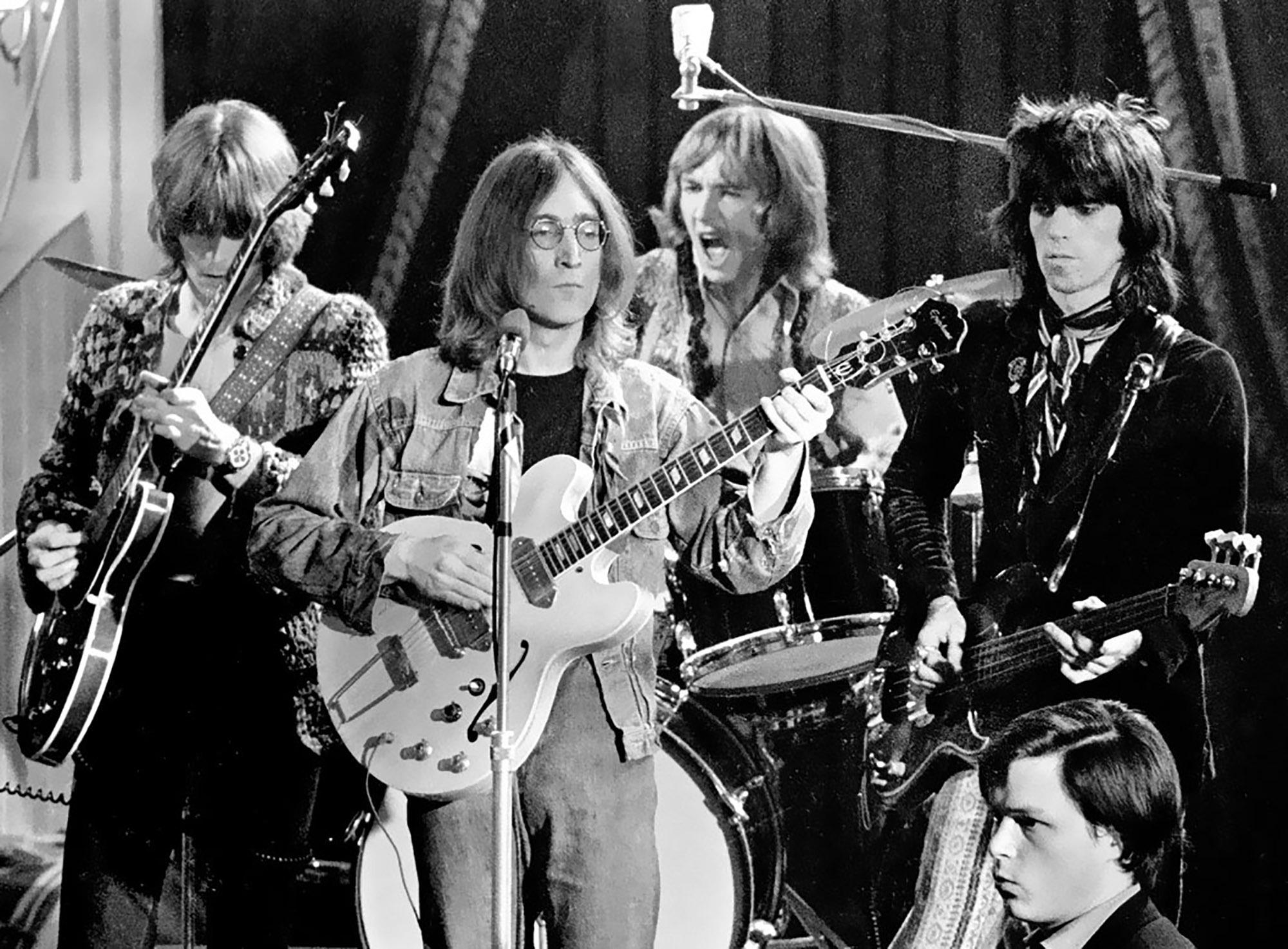 Eric Clapton and John Lennon - Universal Geneve