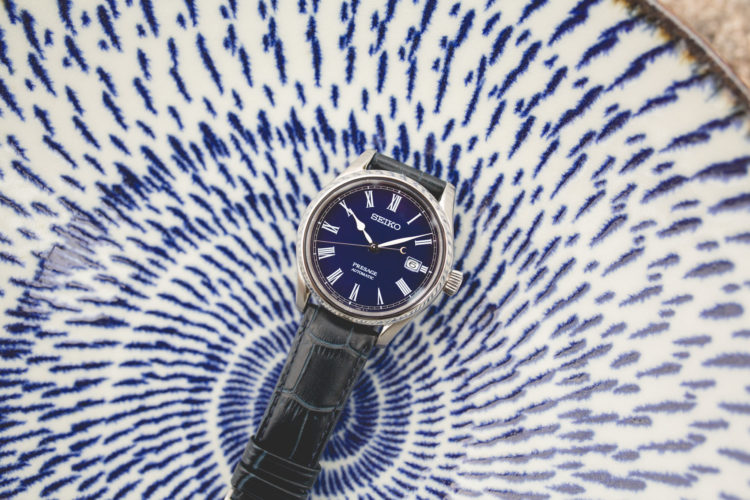 Seiko Presage Blue Enamel Limited Edition