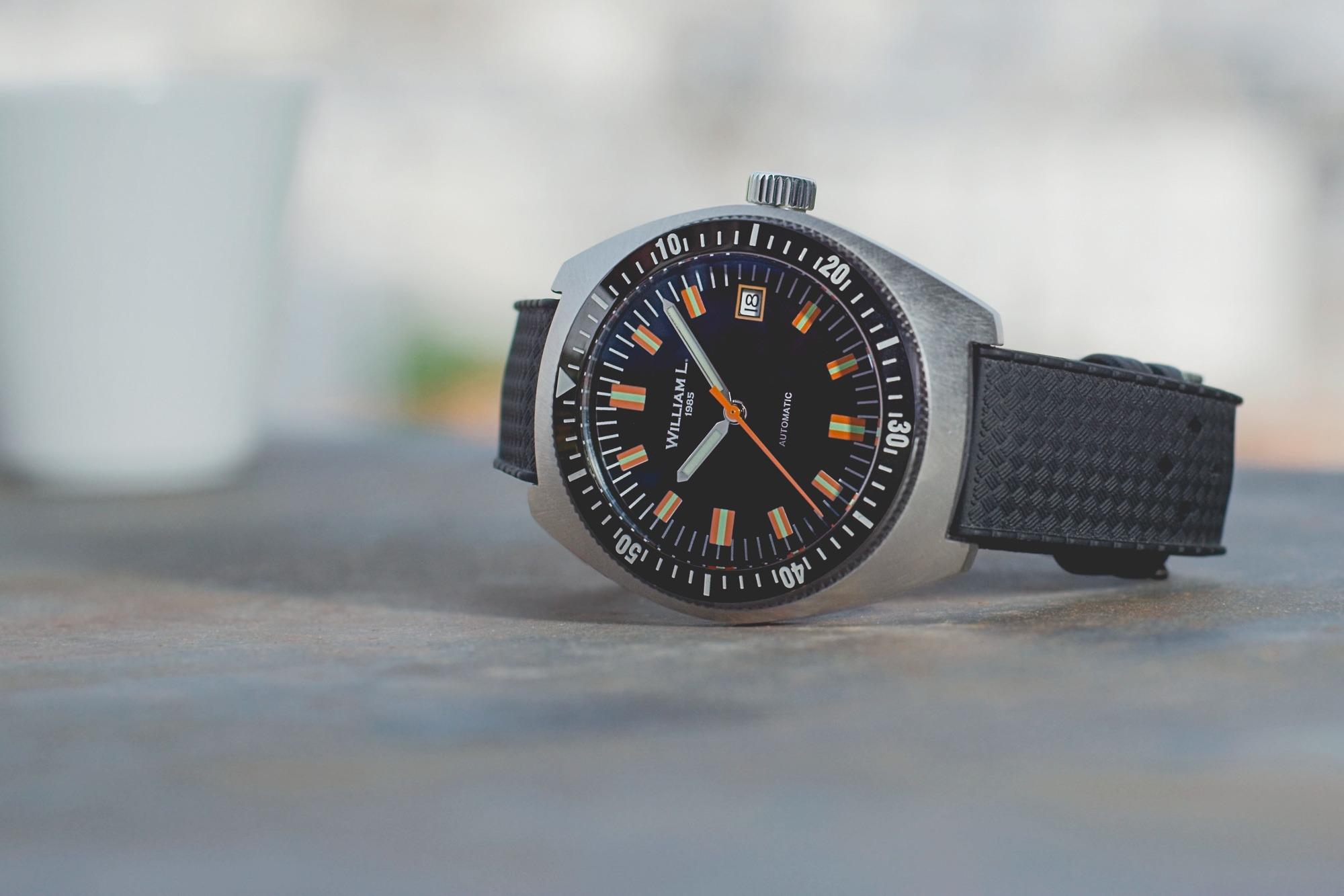 William L 1985 - Automatic Diver Seventies