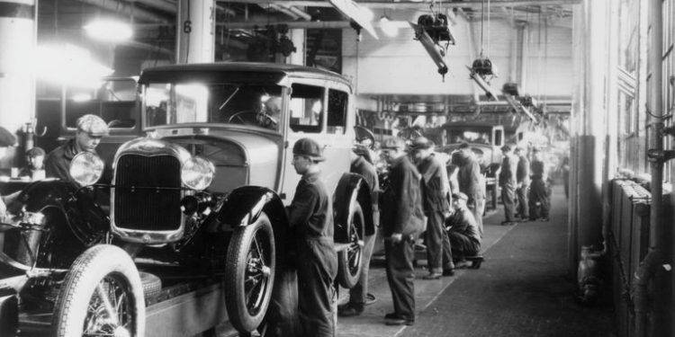 The Automobile Industry (Source : The balance)