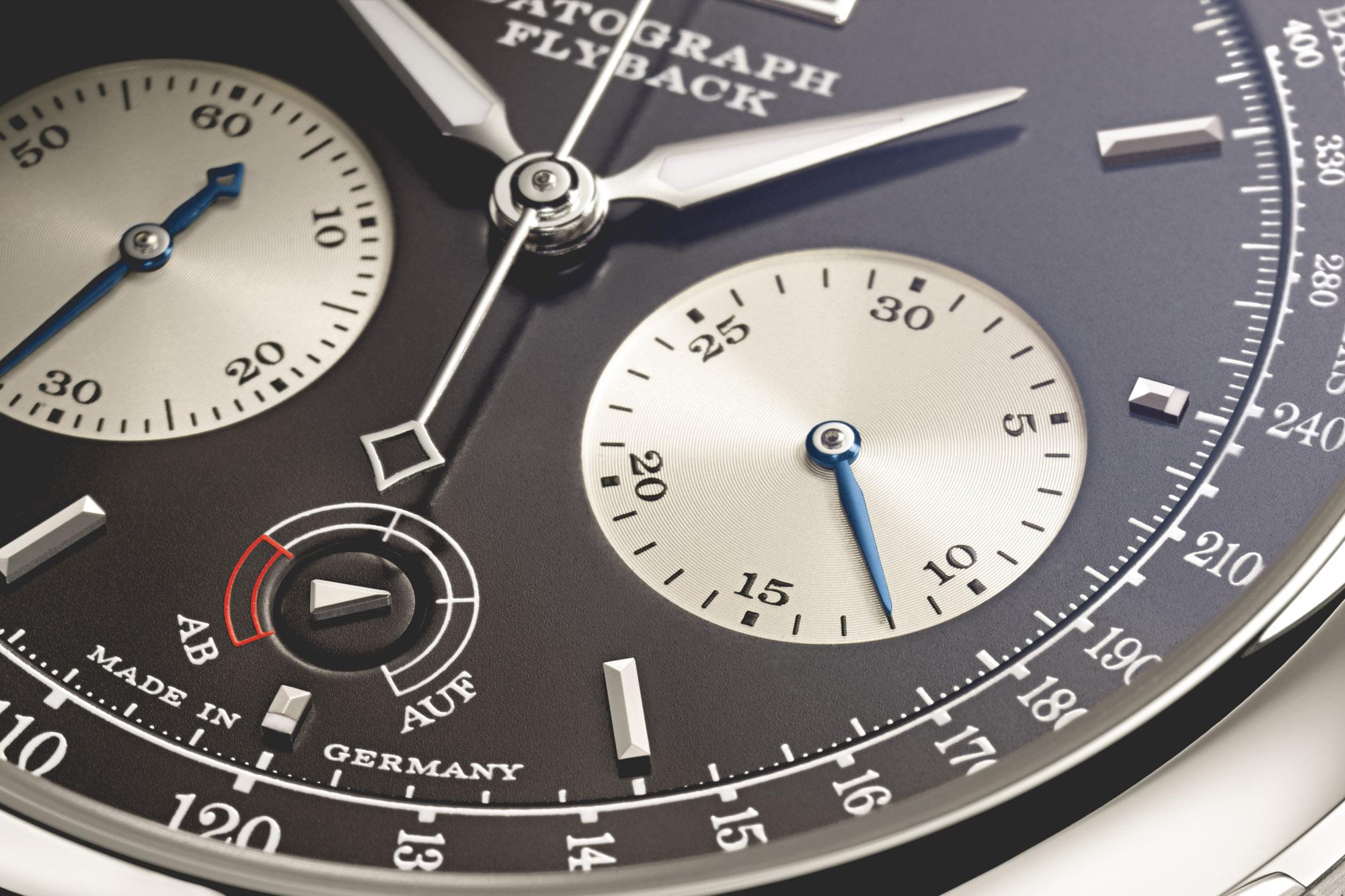 A. Lange & Söhne Datograph Up Down - Détail cadran