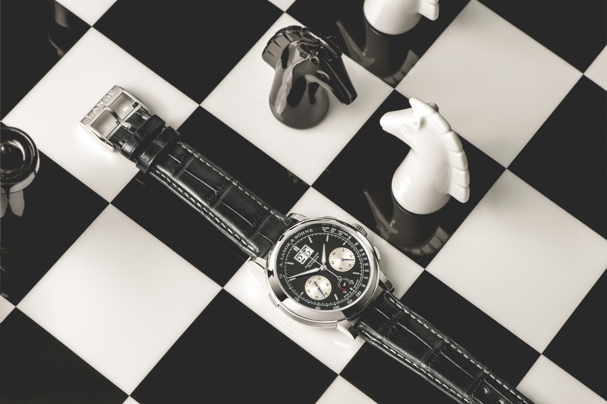 A. Lange & Söhne Datograph Up Down - Black and white