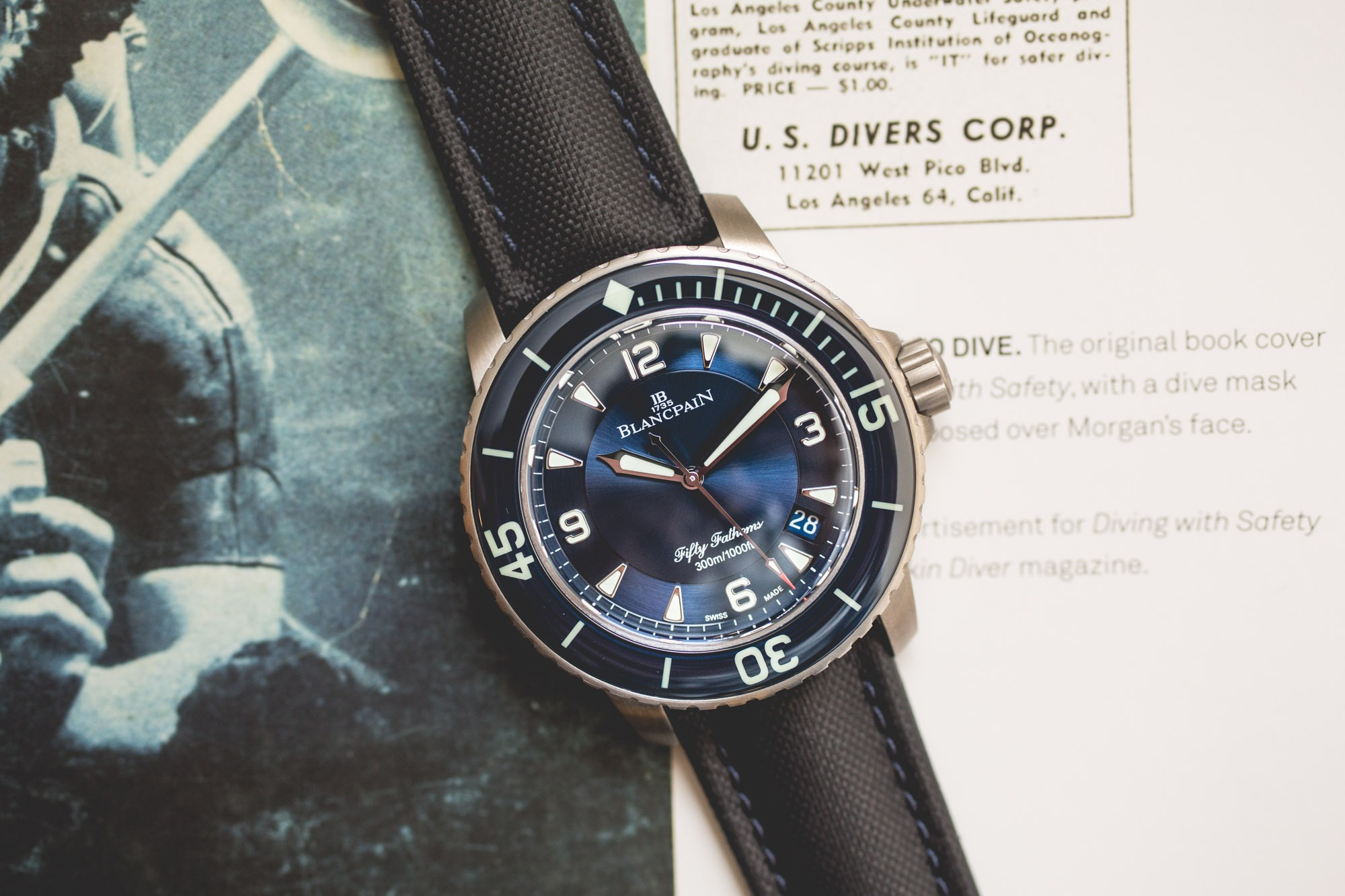 Blancpain Fifty Fathoms 2018
