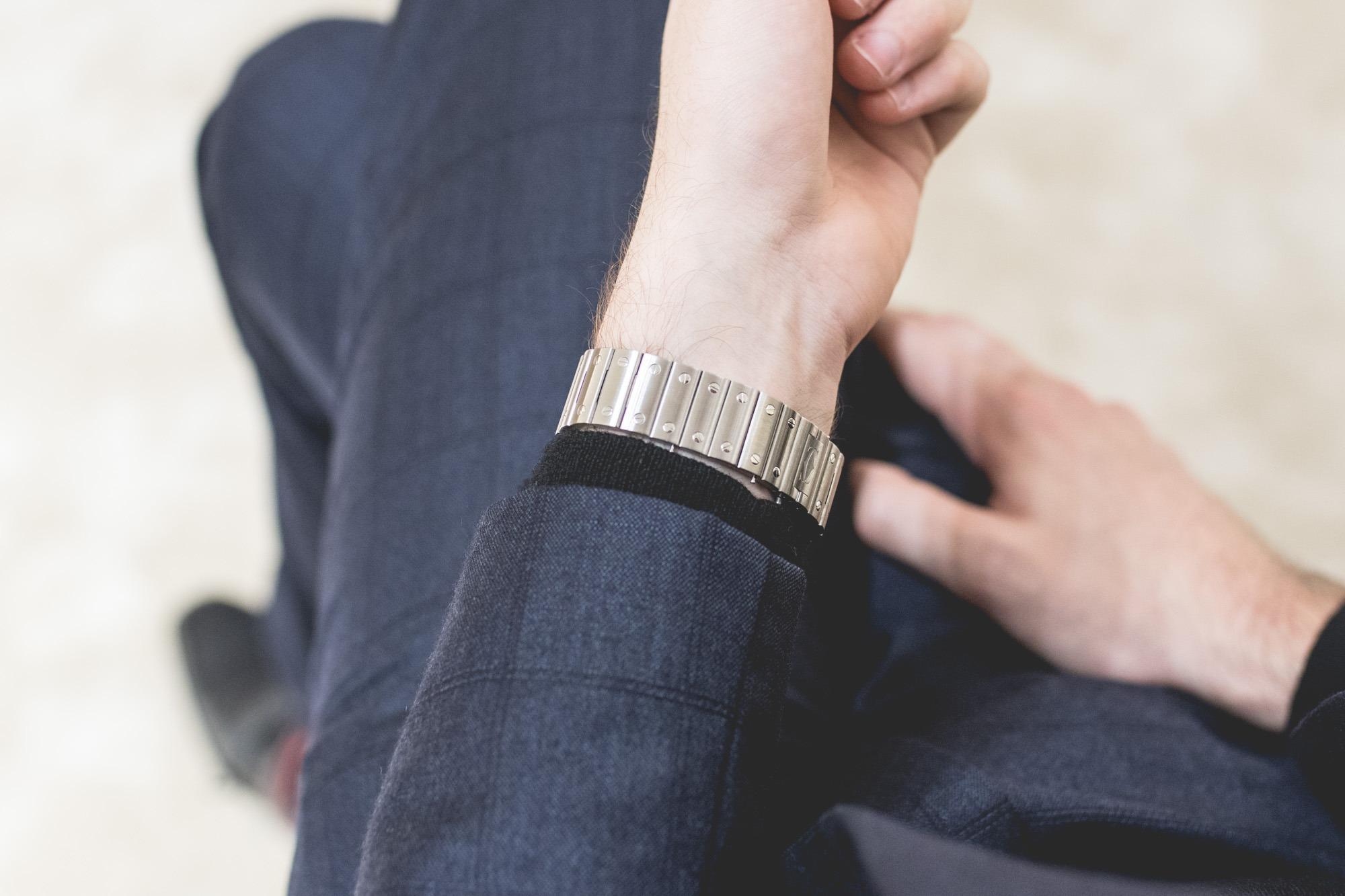 Cartier SIHH 2018 - Santos acier - Nouveau bracelet