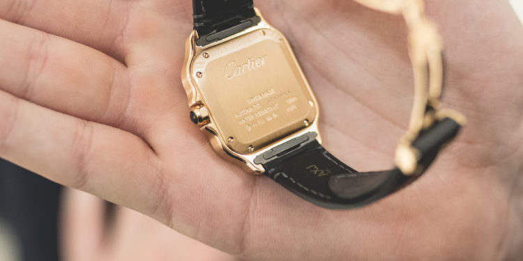 Cartier SIHH 2018 - Santos or - Bracelet
