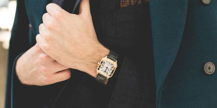 Cartier SIHH 2018 - Santos or Moyen modèle
